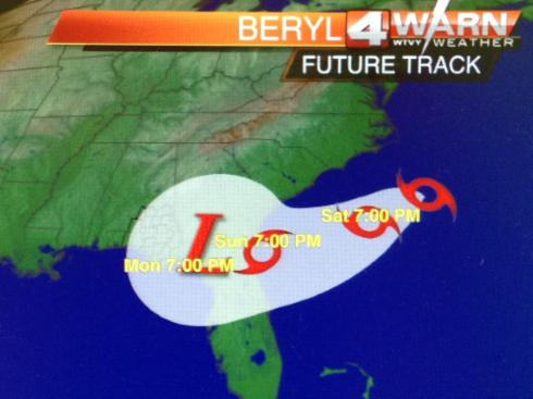 Beryl's  Future Track